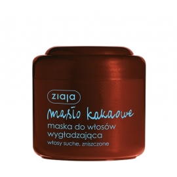 Ziaja masło kakaowe -maska do włosów wygładzająca -200 ml