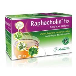 Raphacholin fix herbatka ziołowa, 20 saszetek.