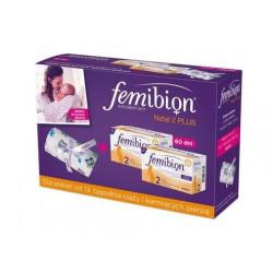 Femibion Natal 2 PLUS zest. 2 op. + miękki otulacz