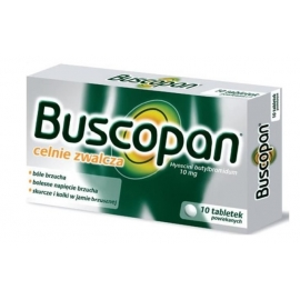Buscopan 10 mg x 10 tabletek
