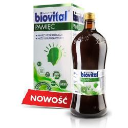 Biovital Pamięć Suplement diety, 1000 ml