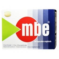 MBE 60 kapsułek miękkich