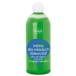 Ziaja Intima dla młodych dziewcząt, płyn do higieny intymnej z mniszkiem lekarskim, 500 ml