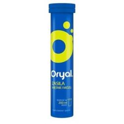 Oryal elektrolity smak limonkowo-cytrynowy 20 tabletek musujących