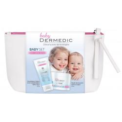 Dermedic Linum Emolient Baby SET kosmetyczka biała