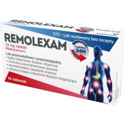 Remolexam 7,5 mg Meloxicamum, 10 tabletek