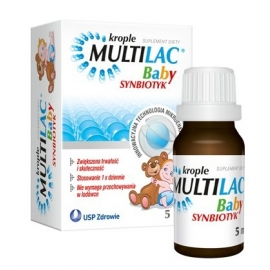 Multilac Baby, synbiotyk krople 5 ml