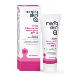 Mediqskin Krem intensywnie nawilżający SPF 15 do cery trądzikowej, 50 ml