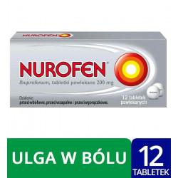 Nurofen 200 mg x 12 tabletek powlekanych