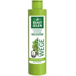 Biały Jeleń WEGE oczyszczający fitokoktajl do mycia włosów dla skóry wrażliwej