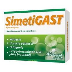 Simetigast 40 mg x 100 kaps