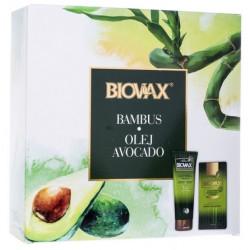 Biovax Bambus i Olej Avocado zestaw Szampon 200 ml + Odżywka ekspresowa 7w1 200 ml