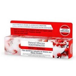 Natura siberica Naturalna długotrwale odświeżająca pasta do zębów, lodowe jagody, 100 g