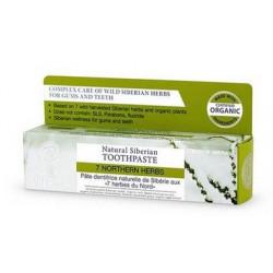 Natura siberica naturalna ziołowa pasta do zębów, 7 ziół, północy, 100g