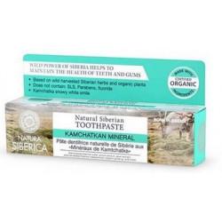 Natura siberica wzmacniająca szkliwo naturalna pasta do zębów, minerały kamczatki, 100g