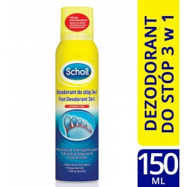 Scholl preparat do stóp 3w1 aerozol 150ml