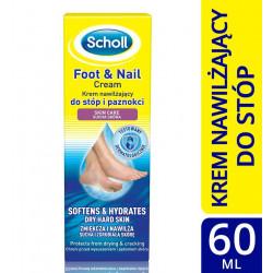 Scholl krem nawilżający do stóp i paznokci 60 ml
