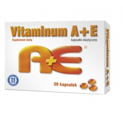 Vitaminum A+E Hasco x 30 kaps.