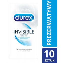 Durex Invisible Prezerwatywy dla większej bliskości x 10 szt.