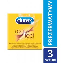DUREX RealFeal Prezerwatywy x 3 szt.