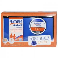 Pharmaton Geriavit + Krem z żeń-szeniem
