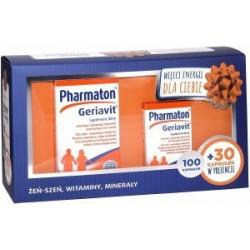 Pharmaton Geriavit Zestaw 100+30 kapsułek 30.11.2020 r.