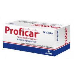 PROFICAR Tabletki dojelitowe 75 mg