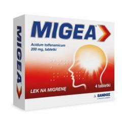 Migea 200 mg, 4 tabletki