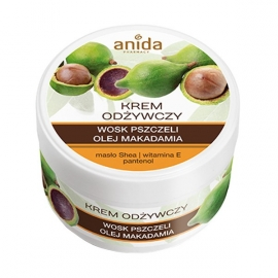 Anida Krem do rąk z woskiem pszczelim i olejem makadamia 125 ml