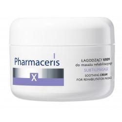 Pharmaceris X XRAY-SUBTILIMASAGE - Łagodzący Krem do masażu rehabilitacyjnego 175 ml