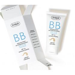 Ziaja krem BB do skóry tłustej i mieszanej odcień naturalny
