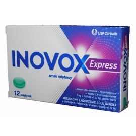 Inovox Express mięta x 12 past.