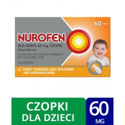 Nurofen dla dzieci 60 mg x 10 czopków