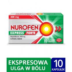 Nurofen Express Forte 400 mg x 10 kapsułek