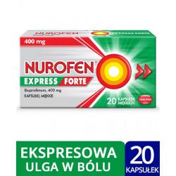 Nurofen Express Forte 400mg 20 kapsułek