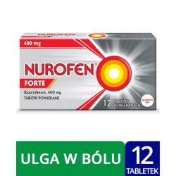 Nurofen Forte 400 mg x 12 tabletki powlekane
