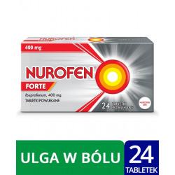 Nurofen Forte 400 mg x 24 tabletki powlekane