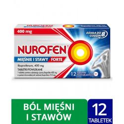 Nurofen Mięśnie i Stawy Forte 400 mg x 12 tabl. powl.
