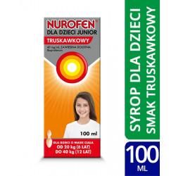 Nurofen dla dzieci Forte truskawkowe 100ml