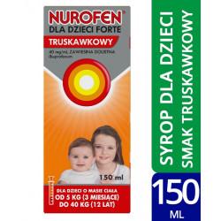 Nurofen  dla dzieci Forte 150 ml truskawka