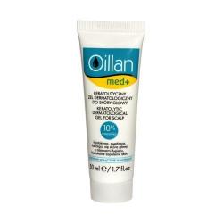 Oillan med+, keratolityczny żel dermatologiczny do skóry głowy. 50 ml 31.03.2019 r.