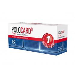Polocard  tabletki dojelitowe 75 mg, 60 sztuk