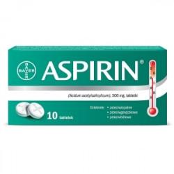 Aspirin 500  10 tabletek