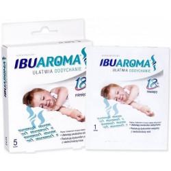 IBUAROMA plaster ułatwiający oddychanie od 18 miesiąca życia 5 sztuk