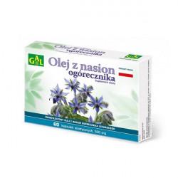 GAL olej z nasion ogórecznika 60 kapsułek