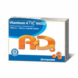 Vitaminum A2000+D3400 Hasco kaps.miękkie 50 kapsułek
