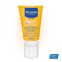 Mustela Mleczko przeciwsłoneczne do twarzy SPF50+  40 ml