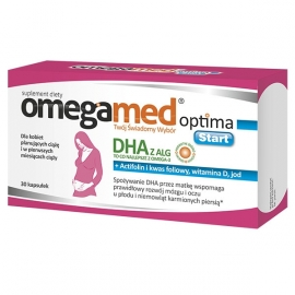 OMEGAMED Optima Start 30 kapsułek