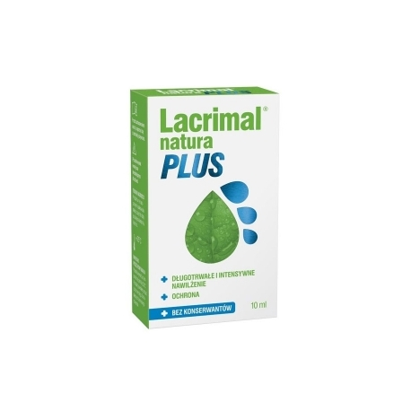 Lacrimal Natura Plus krople do oczu 10