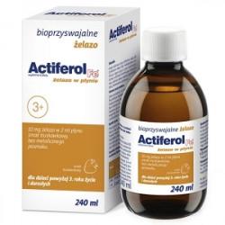 Actiferol Fe Żelazo w płynie 240 ml